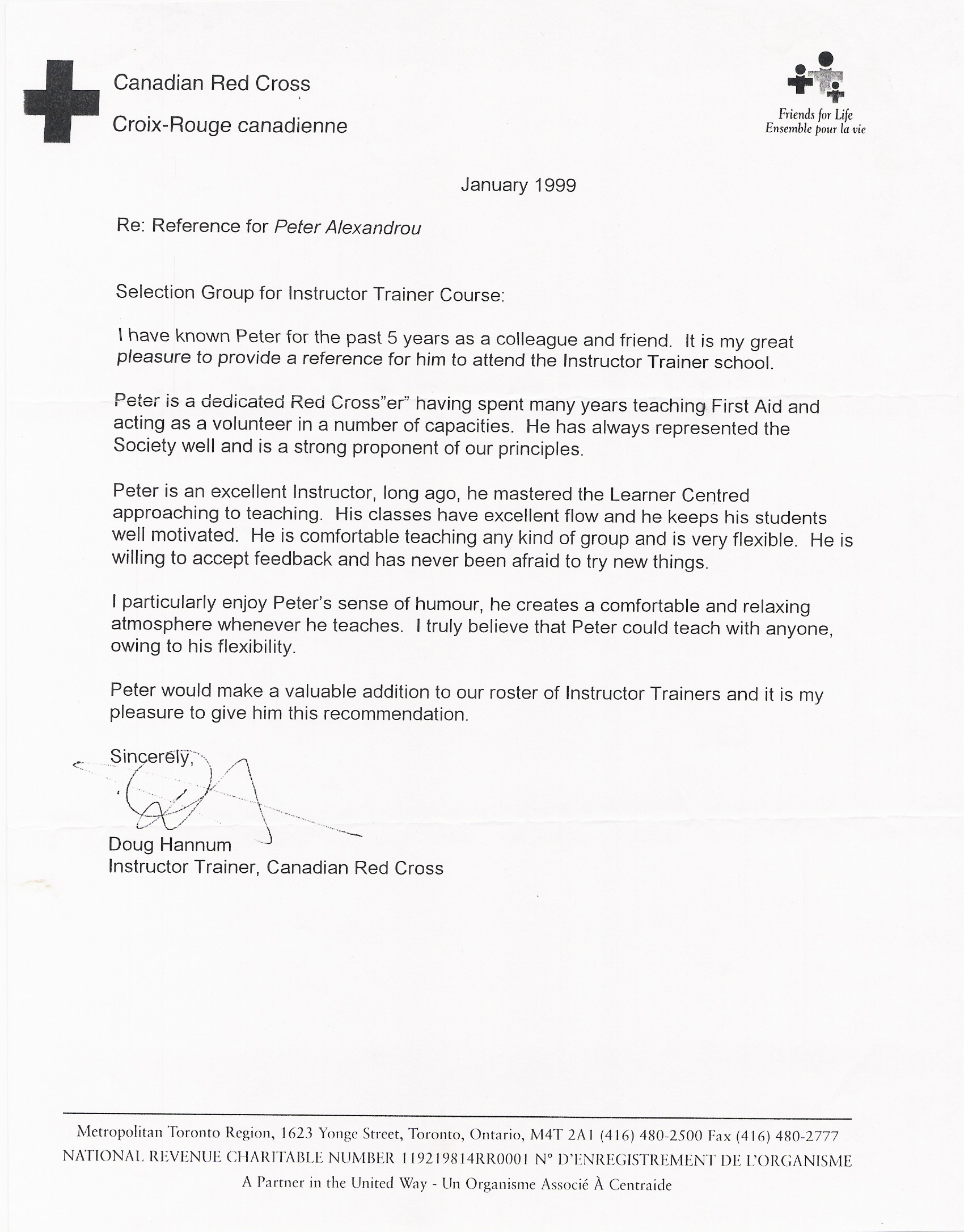 Peter reference letter 2 red cross qualifications list xflitez Image collections