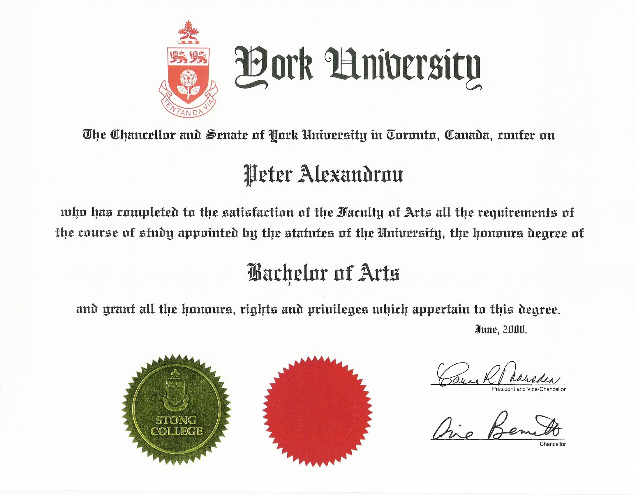 Peter ba specialized honours kinesiology health sciences kinesiologist certificate xflitez Choice Image